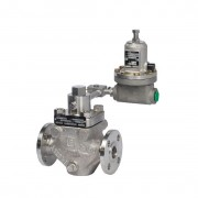 Fisher Type LR128 Pilot-Operated Pressure Relief Valve Or Backpressure Regulator-Faraham-tajhiz-payam