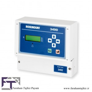 Rosemount 3490 Controller - Digital-Faraham Tajhiz Payam